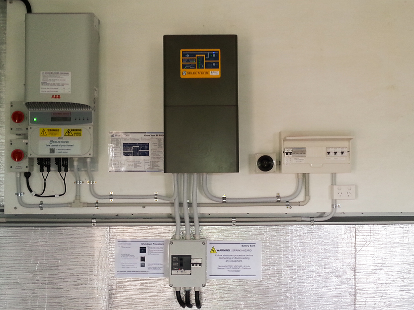 off grid solar 7 5kw selectronic inverter davey electrical and solar warwick allora clifton yangan killarney pratten leyburn stanthorpe grid solar 7 5kw selectronic inverter